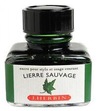 Tinte von J. Herbin Efeugrün 30 ml Füllertinte