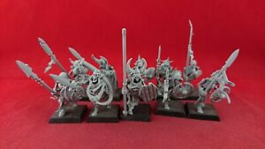 10 VAMPIRE COUNTS SKELETON WARRIORS OOP Deathrattle Plastic Warhammer Sigmar
