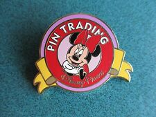 Disney WDW Keep On Tradin Mystery Minnie Mouse Full Color Pin Authentic