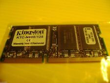 KTC-N600/128 Kingston 128MB SODIMM Memory PC-133 from Compaq N600C