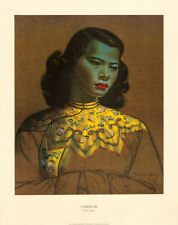 Chinese Girl Fine Art Poster Print by Vladimir Tretchikoff, 23.5x30