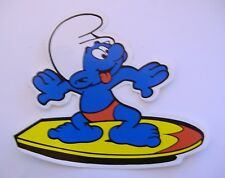 "ADESIVO - STICKER - ADHESIVO/ PUFFO ""WINDSURF"" - PUFFI CARTOON"