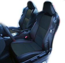 SCION FR-S 2013-2016 BLACK IGGEE S.LEATHER CUSTOM FIT FRONT SEAT COVER