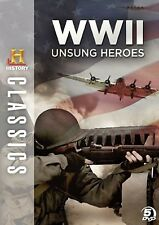 WWII UNSUNG HEROES (DVD SET) World War two the history channel THC AE A&E NEW