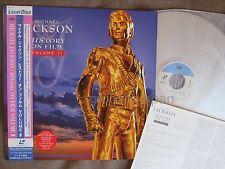 MICHAEL JACKSON HIStory-Video Greatest Hits II JAPAN Laser Disc LD ESLU145 w/OBI