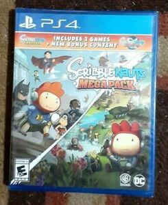 Scribblenauts Megapack 2 Games In 1 + Bonus Content (Playstation 4) New & Sealed