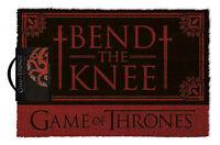 Game Of Thrones - Bend Knee - Fußmatte, Größe: 60 x 40 cm, Material Kokosfaser