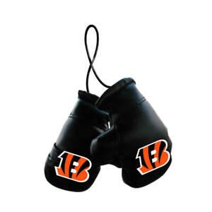 Cincinnati Bengals NFL Mini Boxing Gloves Rearview Mirror Auto Car Truck