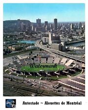 CFL 1970's Montreal Alouettes Autostade Stadium Aerial View Color 8 X 10 Photo