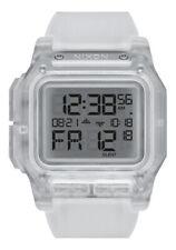 Nixon Regulus Men's Watch Clear Digital 5 year battery