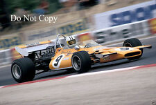Denis hulme mclaren M19A french gp 1971 photographie