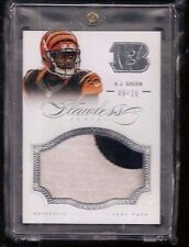 A.J. Green 2014 Flawless 2-Color PRIME Seam Patch #/25! Bengals ALL-PRO WR! RARE