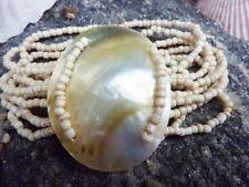 Shell Beaded Costume Bracelets