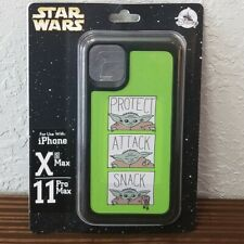 Disney Parks Star Wars Baby Yoda Protect Attack Snack iPhone Xs/11Pro Max Case