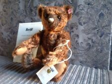 Steiff Bear Woody, Limited Edition With Growler, Boxed.