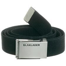 Blakläder Gürtel elastisch 4004  in schwarz mit silberner Metallschnaller