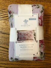 Simply SHABBY CHIC Hand Quilted Standard PILLOW SHAM - NEW IN PKG.
