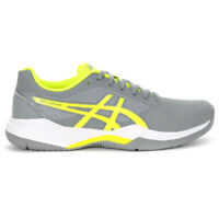 ASICS Women's Gel-Game 7 Stone Grey/Safety Yellow Tennis Shoes 1042A036.020 NEW