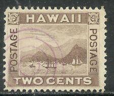 U.S. Possession Hawaii stamp scott 75 - 2 cent issue of 1894 - #7
