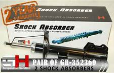 2 NEW FRONT GAS SHOCK ABSORBERS FOR FIAT FIORINO NEMO BIPPER ///GH-352360///