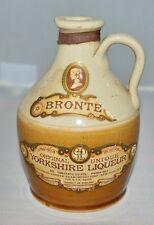 VTG BRONTE Yorkshire Liqueur 3/4 PTS James Beam Stoneware Jug Crock