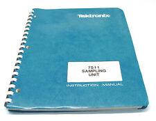 Tektronix 7S11 Sampling Unit, Instruction Manual, Bedienung & Service, 7000er