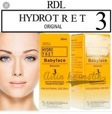 🌻RDL3 BABY FACE WHITENING SERUM FOR FACE, HANDS AND LEGS SERUM ORIGINAL DIRECT