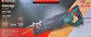 PARKSIDE® Säbelsäge PFS710 D3 Säbel Säge 710 Watt für Holz Metall Kunststoff