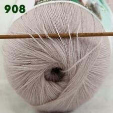1ball 50g LACE Acrylic Wool Cashmere hand knitting Yarn Beige Sale 238-908