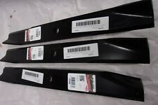 "Set of 3 Blades for Gravely , Dixon 50"" Mower Deck 539126276, 8861651, 8899300"