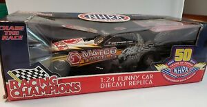 Matco Tools Racing Whit Bazemore NHRA 1/24th Scale Die-cast Funny Car NIB