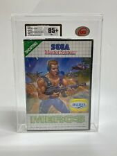 Mercs - Sega Master System 1990 New & Sealed UKG Not VGA Graded 85+NM+!