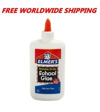 Elmer's Washable School Glue Non-Toxic 7.625 Fl Oz FREE WORLDWIDE SHIPPING