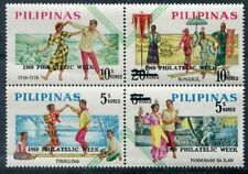 PHILIPPINES  1046a  Beautiful  Mint  NEVER  HInged  Block  AG