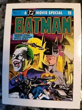 Vintage 1989 Batman Ertl Movie Special Card