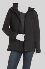 $225 The North Face Women's Black Ditmas Rain Jacket Weatherproof Coat Size M