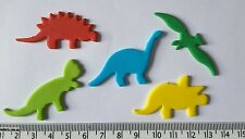 30 Dinosaur prehistoric style cupcake cake toppers birthday party decorations