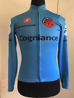 CASTELLI WOMENS Cycling Jacket WinterThermal Lined Size XS Team Thirsty Bear