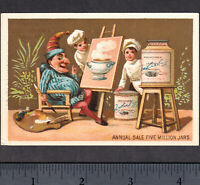 ca 1882 LIEBIG S 0076 Punch Clown English Language American Victorian Trade Card