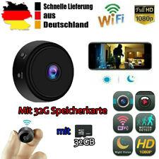 WLAN Mini Kamera Wireless Wifi IP Camera 1080P HD Überwachungkamera Nachtsicht