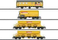 Marklin 49969 Track Maintenance 4-Car Set MHI Exclusiv  DBG Era VI 2012, yellow
