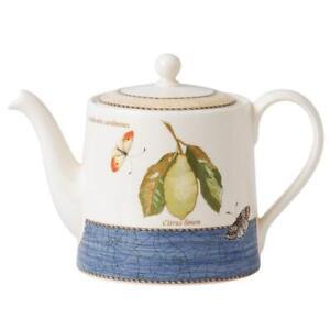 Wedgwood Sarah's Garden Blue Teapot RRP $169