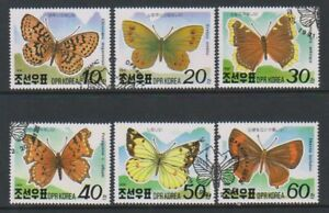 Korea - 1991, Alpine Butterflies set - CTO - SG N3034/9
