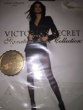 Victoria's Secret Signature Gold Collection Hosiery Sheer Vitality Oatmeal Small