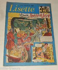 LISETTE N°50 du 15 Décembre 1957: Audrey HEPBURN – La Garde de TIVOLI...