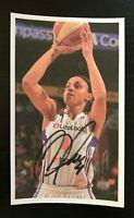 CANDICE DUPREE WNBA Phoenix Mercury Autographed Signed Custom 3x5 Index Card
