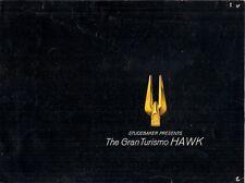 Studebaker Gran Turismo Hawk 1962-63 USA Market Foldout Sales Brochure
