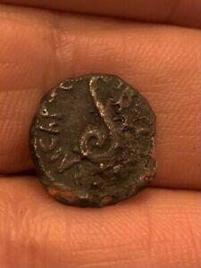 Pontius Pilate, Bronze Prutah, 26-36 CE. Tiberius (29/30 CE).minted Jerusalem