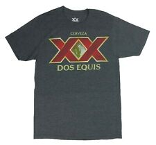 Dos Equis Men's T Shirt XX Stay Thirsty My Friends Graphic Logo Tee