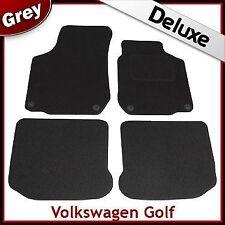 Volkswagen VW Golf Mk4 1997-2004 Tailored LUXURY 1300g Carpet Car Mats GREY